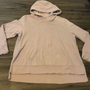 Old Navy Light pink/purple hoodie large